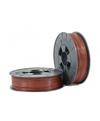 PLA 1,75mm brown ca. RAL 8016 0,75kg - 3D Filament Supplies
