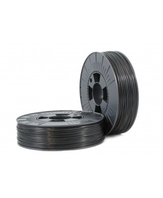 PLA 1,75mm black ca. RAL 9017 0,75kg - 3D Filament Supplies