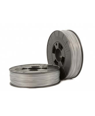 PLA 1,75mm silver ca. RAL 9006 0,75kg - 3D Filament Supplies