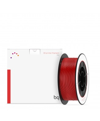 BQ, PLA 1,75mm Ruby Red 1Kg