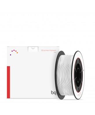 BQ, PLA 1,75mm Pure White 1Kg