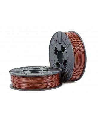 PLA 2,85mm brown ca. RAL 8016 0,75kg - 3D Filament Supplies